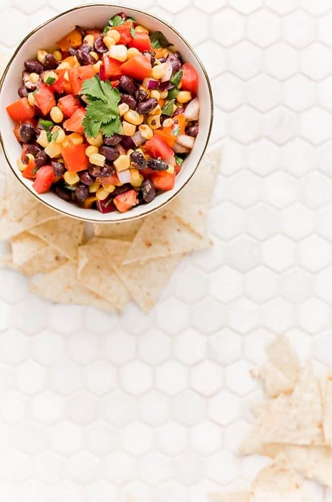 black bean corn salsa
