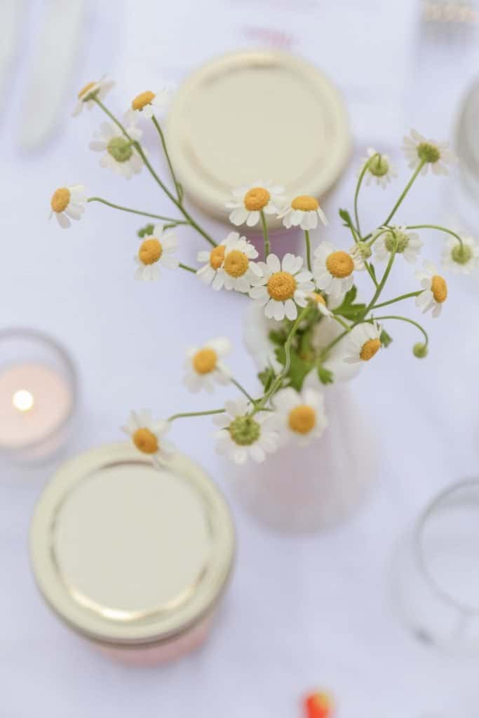 flower table scape