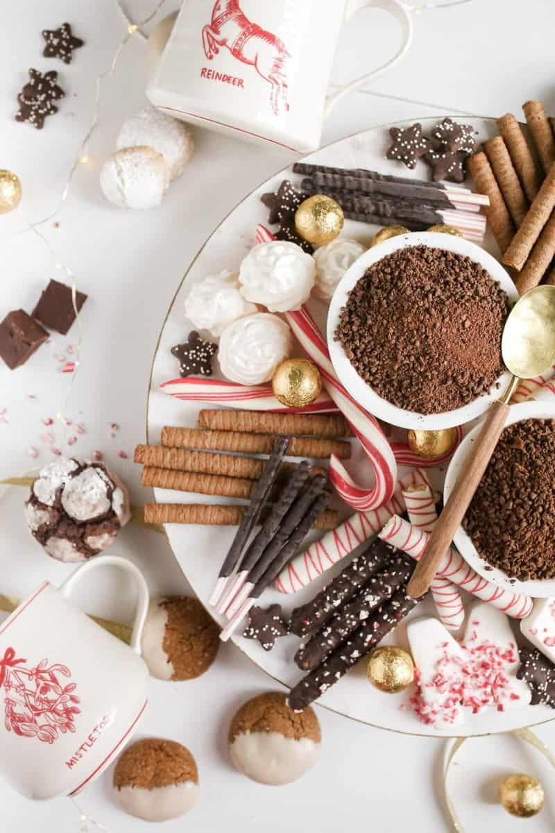 hot chocolate bar off center