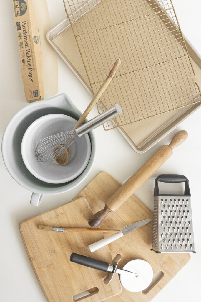 equipment needed for making scones